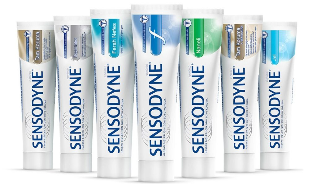 sensodyne toothpaste Sensodyne ® complete protection tm toothpaste builds a protective layer over the vulnerable areas of the teeth and provides seven specifically designed benefits in one complete sensitivity toothpaste with twice daily brushing.